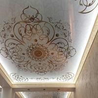 3D натяжной потолок