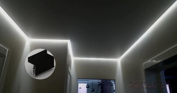 Парящий тканевый потолок